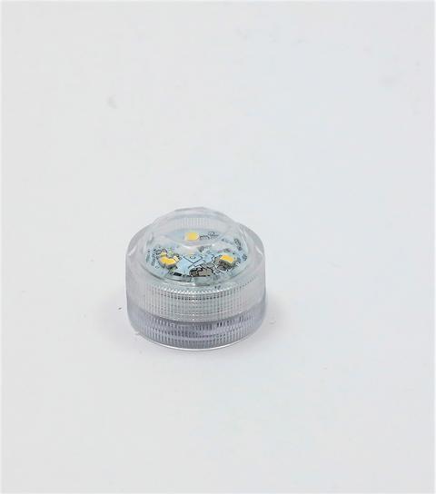 LED-Teelicht mit 3 LED, warmweiß